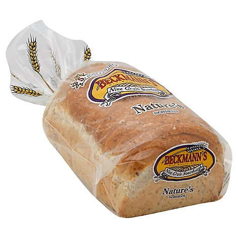Beckmanns Nine Grain Sourdough Bread - 24 Oz