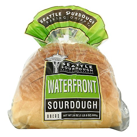 Seattle International Baking Company Sourdough Round Sliced Loaf - 24 Oz