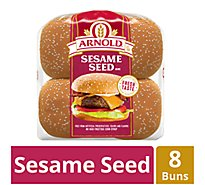 Arnold Sandwich Buns Sesame Seeded 8 Count - 16 Oz