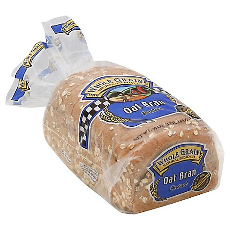 Whole Grain Oat Bran Bread - 30 Oz