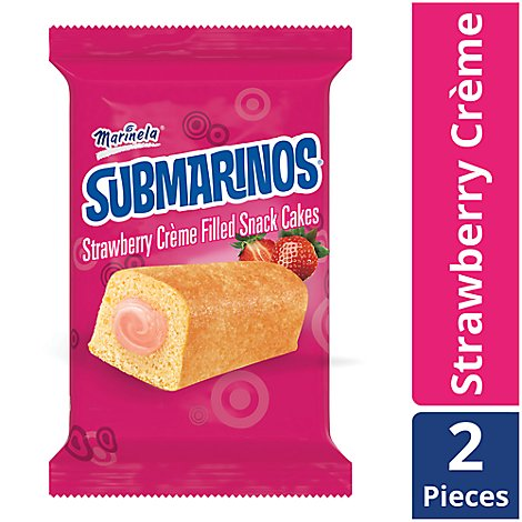 Marinela Submarino Strawberry - 2.4 Oz