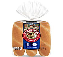 Francisco International Outdoor Gourmet Rolls 6 Count - 16 Oz
