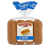 Pepperidge Farm Bakery Classics Buns Hot Dog Top Sliced - 8 Count