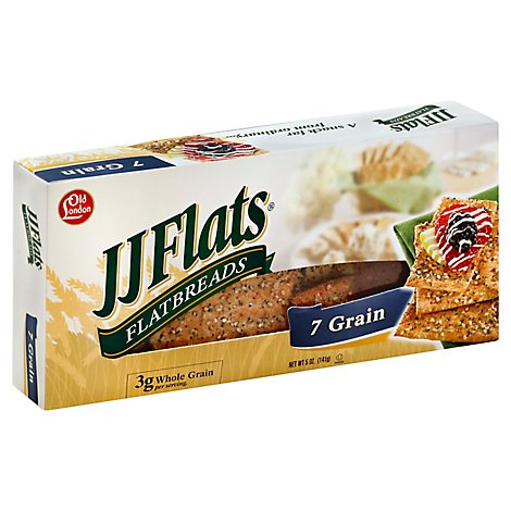 JJ Flats Multi Grain - 5 Oz