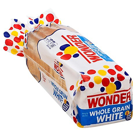 Wonder Bread Whole Grain White - 20 Oz