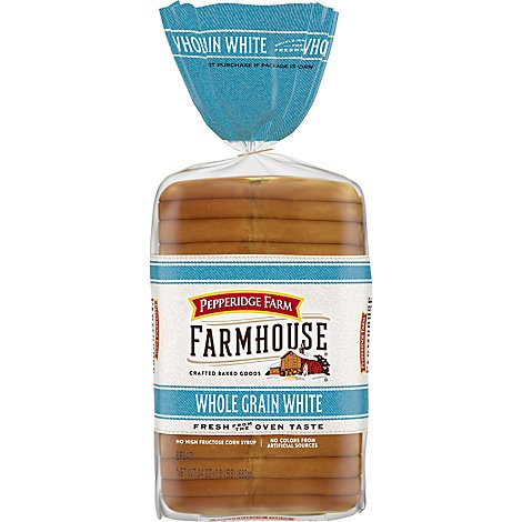 Pepperidge Farm Farmhouse Bread Whole Grain White - 24 Oz