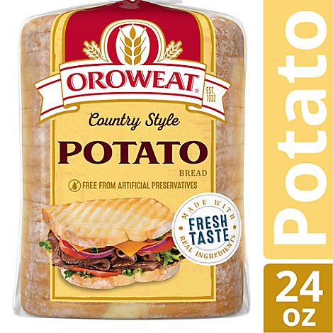 Oroweat Bread Country Potato - 24 Oz