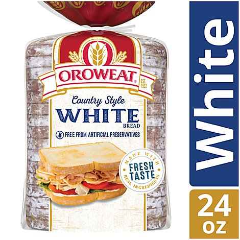 Oroweat Bread Country White - 24 Oz