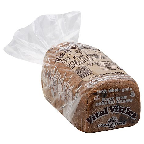 Vital Vittles Bread Raisin - 24 Oz