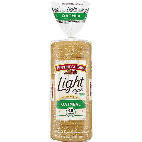 Pepperidge Farm Bread Light Style Oatmeal - 16 Oz
