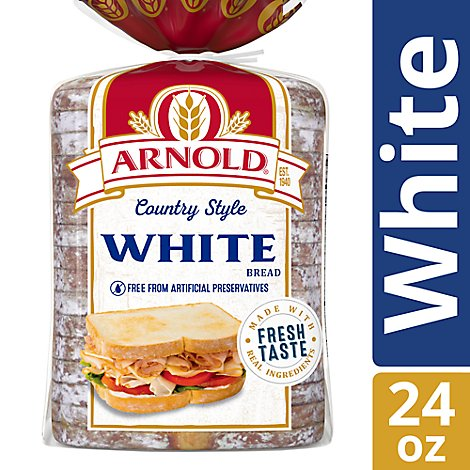 Arnold Bread Country White - 24 Oz