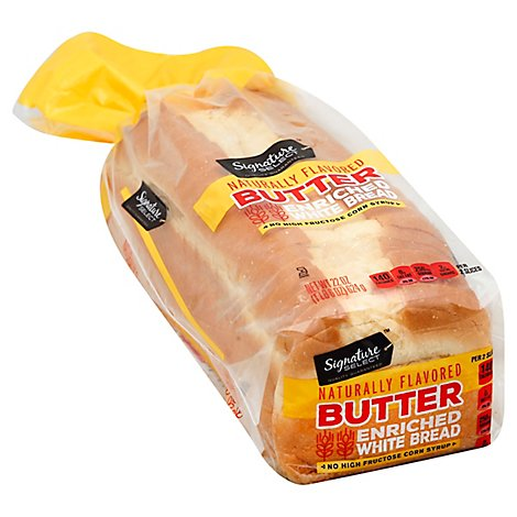 Signature SELECT Bread White Butter Top - 22 Oz
