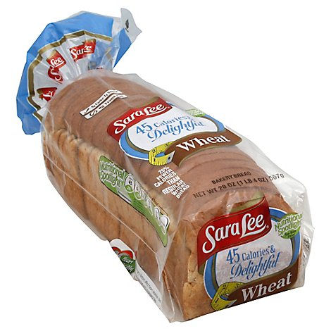 Sara Lee Delightful Bread Wheat - 20 Oz