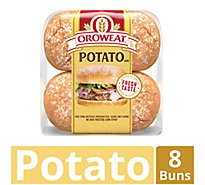 Oroweat Buns Sliced Country Potato - 5 Oz