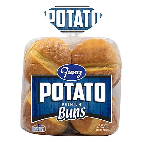 Franz Williams Potato Buns - 24 Oz