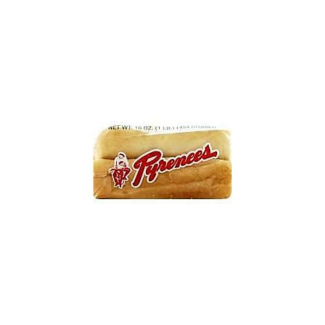 Pyrenees Rolls Sourdough Large - 6 Package