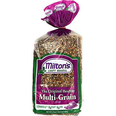 Miltons Multigrain Bread - 24 Oz