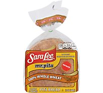 Sara Lee Bread Mr Pita 100% Whole Wheat - 14 Oz