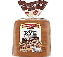 Pepperidge Farm Swirl Bread Rye & Pump - 16 Oz