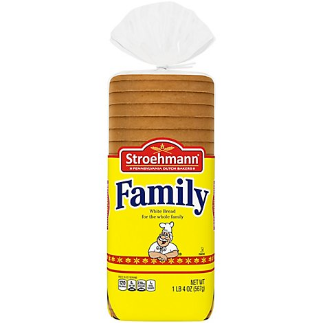 Stroehmann Family White Enriched Bread - 20 Oz
