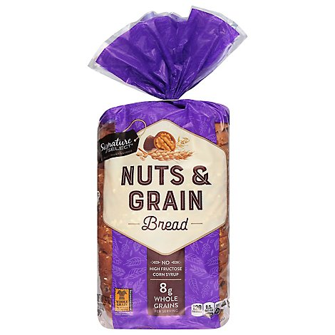 Signature SELECT Bread Nut & Grain - 24 Oz