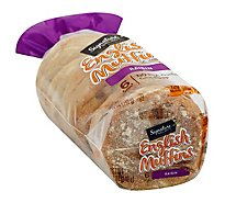 Signature SELECT English Muffins Raisin Cinnamon 6 Count - 12 Oz