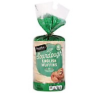 Signature SELECT English Muffins Sourdough 6 Count - 12 Oz