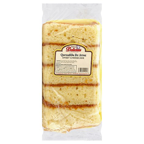 Delicias Quesdailla De Arroz - 10 Oz