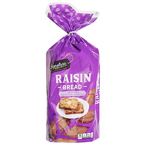 Signature SELECT Bread Raisin - 16 Oz