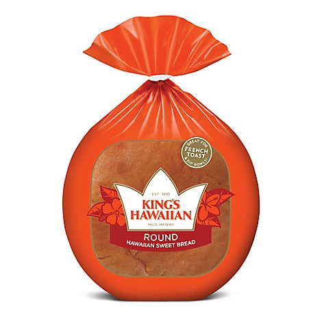 Kings Hawaiian Bread Round - 16 Oz