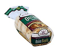 Western Bagel Onion Bagel - 18 Oz