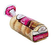 Western Bagel Everything Bagel - 6 Count