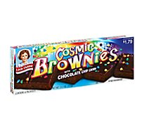 Little Debbie Brownies Cosmic with Chocolate Chip Candy - 6 Count