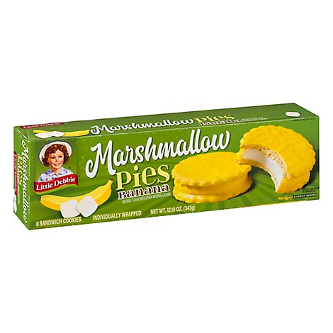 Little Debbie Pie Marshmallow Banana - 11 Oz