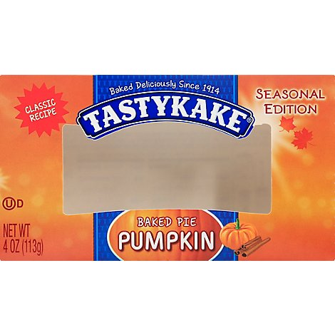 Tastykake Pumpkin Pie - 4 Oz