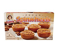 Little Debbie Pecan Spinwheels Individually Wrapped - 8 Count