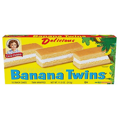 Little Debbie Banana Twins - 11 Oz