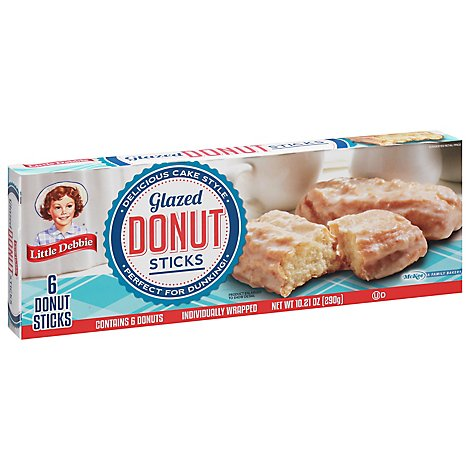 Little Debbie Donut Sticks - 6 Count