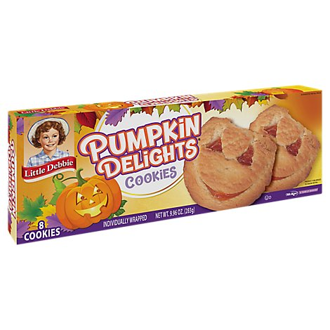 Little Debbie Cookies Pumpkin Delights - 9.8Oz