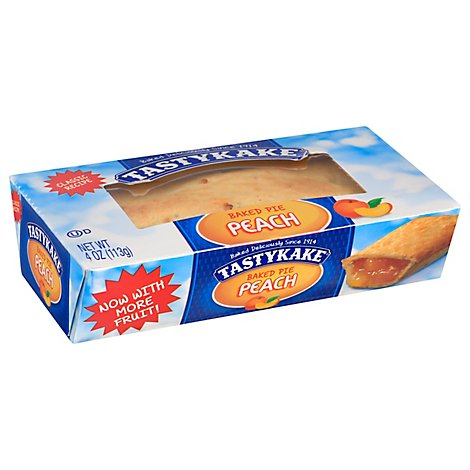 Tastykake Pie Peach - 4 Oz