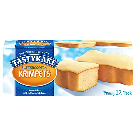 Tastykake Krimpets Butterscotch - 12 Oz