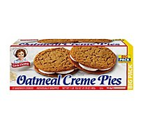 Little Debbie Cream Pie Oatmeal Big Pack - 31.78 Oz