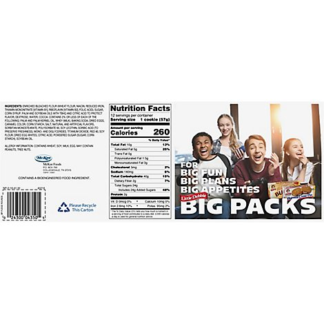 Little Debbie Fudge Rounds Big Pack - 30 Oz