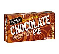 Signature Kitchens Chocolate Creme Snack Pie - 4.5 Oz