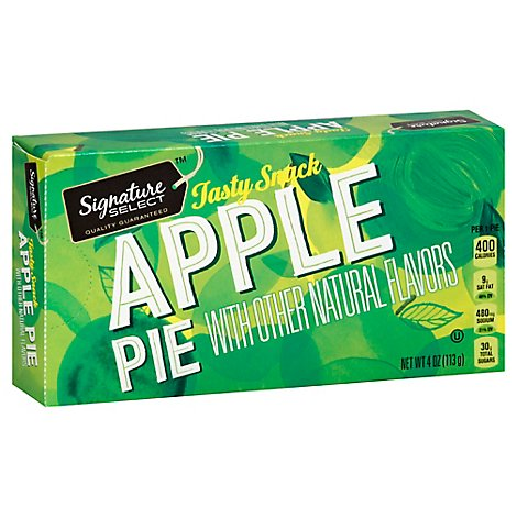 Signature Kitchens Apple Fruit Snack Pie - 4.5 Oz