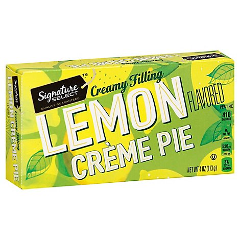 Signature SELECT Lemon Creme Snack Pie - 4.5 Oz
