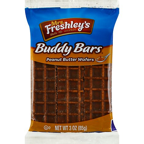 Mrs Freshleys Peanut Butter Buddy Bar - 3 Oz