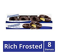 Entenmanns Donuts Rich Frosted - 8 Count
