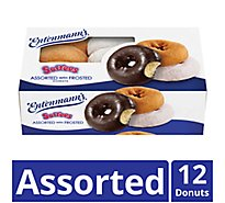 Entenmanns Softees Donuts Assorted With Frosted - 12 Count