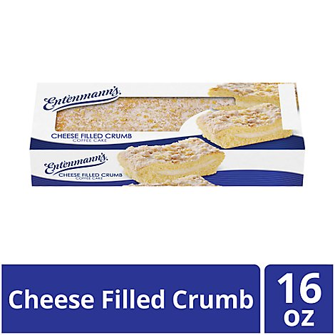 Entenmanns Coffee Cake Cheese Filled Crumb - 16 Oz